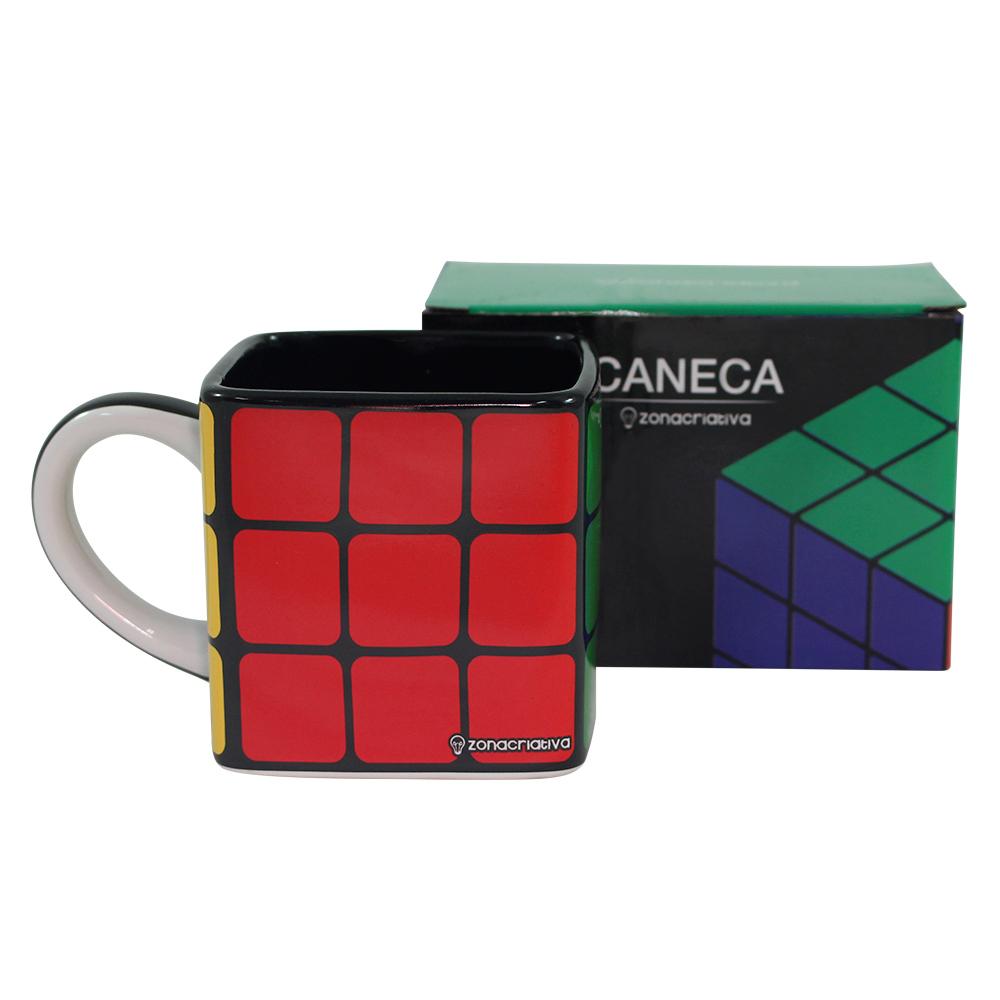 Caneca Cubo Mágico 300ML