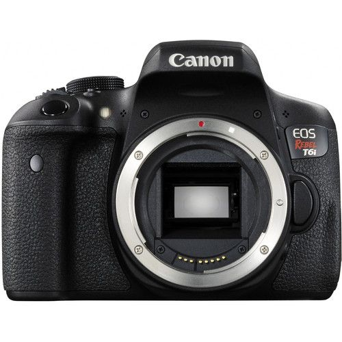 CANON EOS REBEL T6I 24.2 MP, FULL HD, WI-FI CORPO