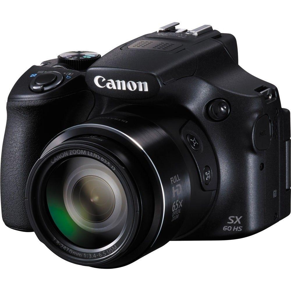 CANON POWERSHOT SX60 HS 16.1MP, ZOOM 65X, FULL HD, WIFI E NFC