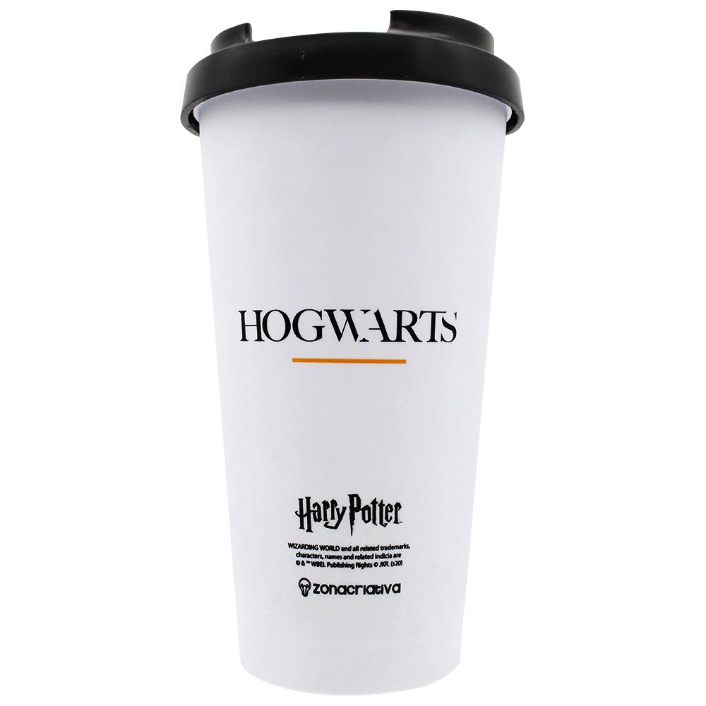Copo Viagem Com Tampa 500ml Hogwarts Alumni