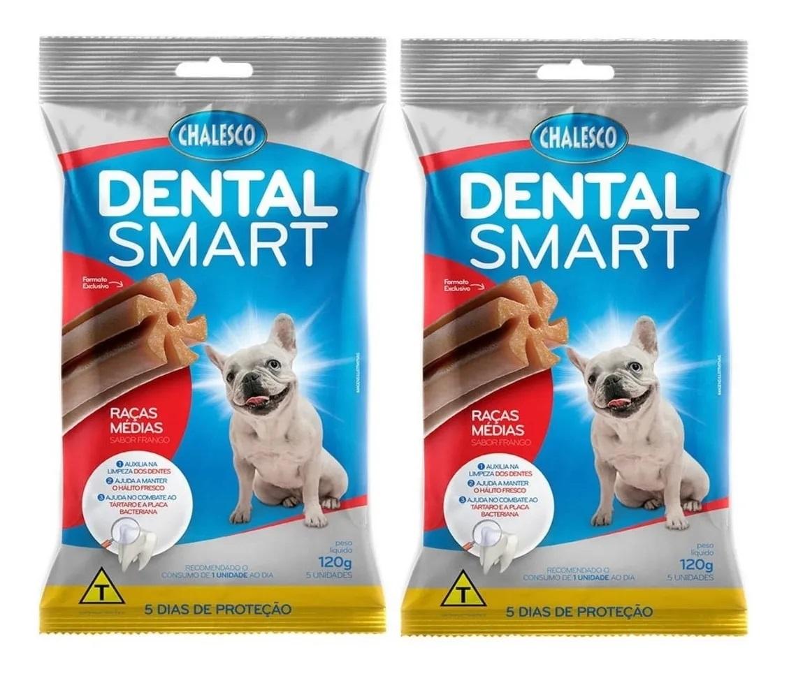 kit 2 x Dental Smart Chalesco 120g