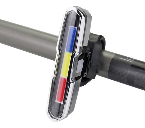Kit Farol Bike 1000 Lumens + Lanterna Traseira Recarregáveis