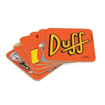 Kit Porta Copo Com 6 Peças Duff Beer