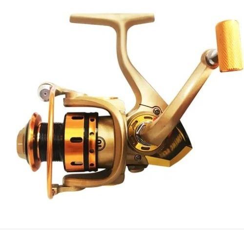 Molinete De Pesca Cmik Mr6000 Carretel Em Alumínio 5 Rolamentos