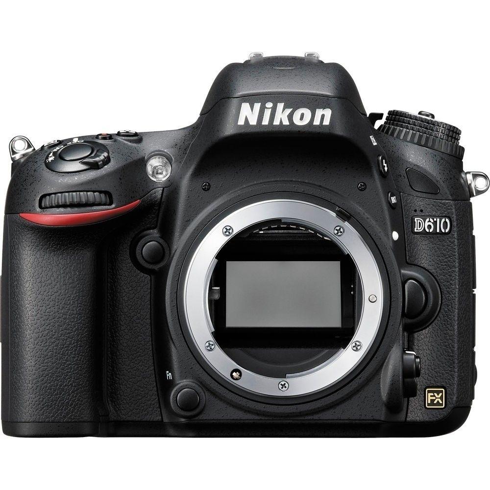 NIKON D610 CORPO 24.3MP, LCD 3.2