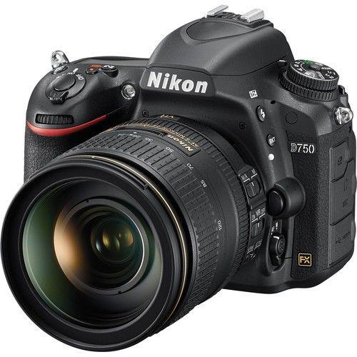 NIKON D750 AF-S 24-120MM 24.3MP, LCD 3.2