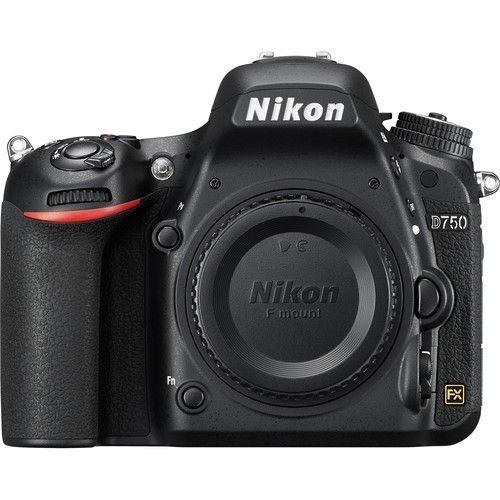 NIKON D750 CORPO 24.3MP, LCD 3.2