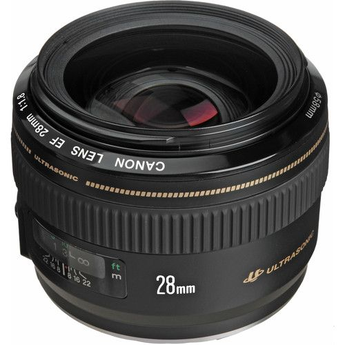 Objetiva Canon 28mm f/1.8 EF USM