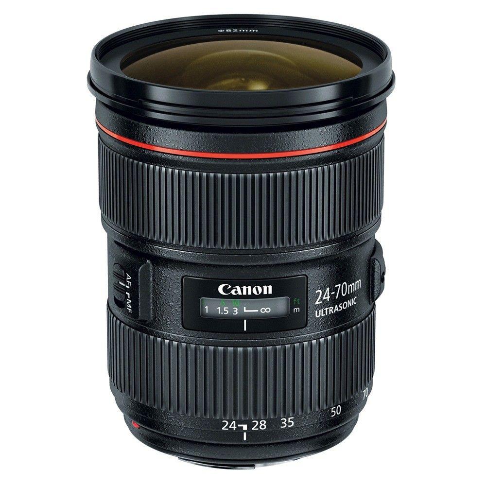 Objetiva Canon EF 24-70MM F/2.8L II USM