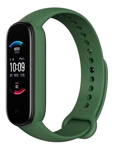 Relógio Amazfit Band 5 Com Alexa Global Oximetro Verde