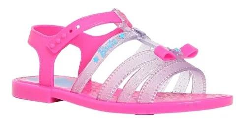 Sandalia Infantil Barbie Pink Car