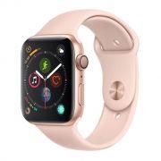 Apple Watch Series 4 GPS, 40 mm, Alumínio Dourado, Pulseira Esportiva Rosa