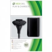 Carregador de Controle de Xbox 360 Preto