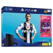 Console Playstation 4 Pro 4K - 1 Terabyte - FIfa 19