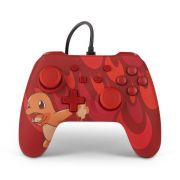 Controle Com Fio USB Pokemon Charmander Power A - Switch / PC