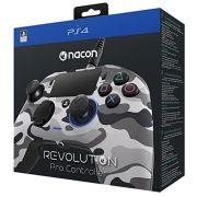 Controle Revolution Pro Nacon Ps4 - Camuflado Cinza