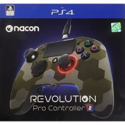 Controle Revolution Pro Nacon Revolution V2 Ps4 - Camuflado Verde