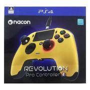 Controle Revolution Pro Nacon Revolution V2 Ps4 - Dourado