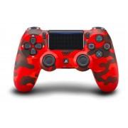 Controle Sem Fio Dualshock Ps4 - Vermelho Camuflado