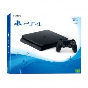 Playstation 4 - 500 Gb Slim + Jogo The Last of US + Cabo HDMI + 15 Jogos PSN