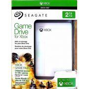 HD Seagate GameDrive para Xbox 2TB USB - Branco
