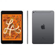 iPad mini 5 Apple, Tela Retina, 64GB, Cinza Espacial, Wi-Fi + Cellular