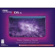 New Nintendo 3Ds XL Edição Galaxy + Carregador Original Nintendo + 50 Jogos 3D na Memória