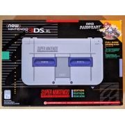 New Nintendo 3Ds XL Super Nintendo + Carregador Original Nintendo