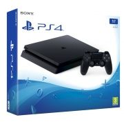 Playstation 4 Slim - 1 Terabyte + Voucher com 15 Jogos PSN (Brinde) (2 Controles)