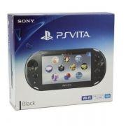 Playstation Vita Wifi Slim Preto + 32Gb + 15 Jogos na Memória