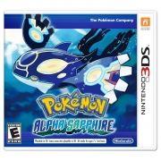 Pokémon Alpha Sapphire - 3Ds