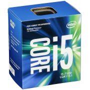 Processador Intel Core I5-7500 Kaby Lake LGA 1151 3.4GHZ 6MB Cache