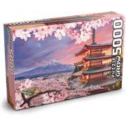 Quebra-cabeça (Puzzle) 5000 peças Monte Fuji