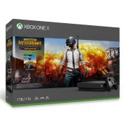 Xbox One X - 1 Terabyte + Jogo Battlegrounds