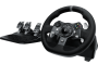 Volante Logitech G920 Driving Force Race Wheel - Xbox One / PC + Câmbio Logitech G Driving Force Shifter
