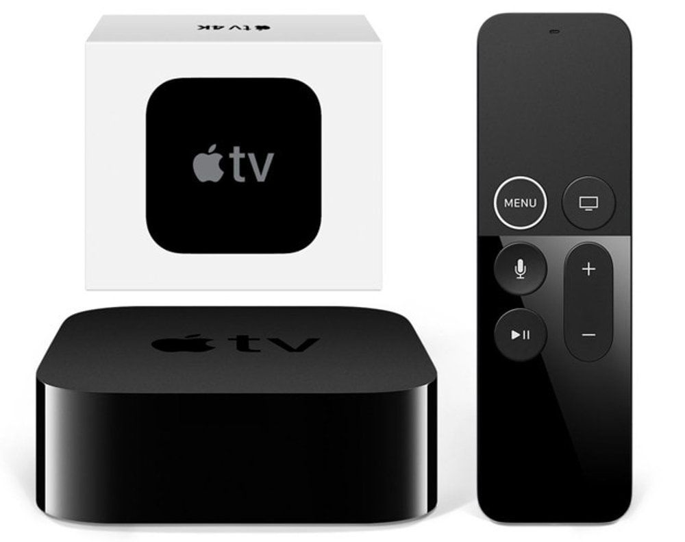 Apple Tv 4ª Geração 64gb 4K / Wifi + Controle Bluetooth