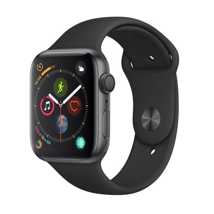 Apple Watch Series 4 GPS, 40 mm, Alumínio Cinza Espacial, Pulseira Esportiva Preta