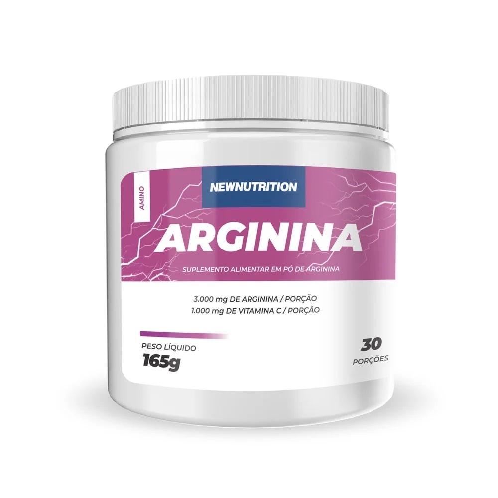 Arginina Pura Em Pó 165g (30 Porções)