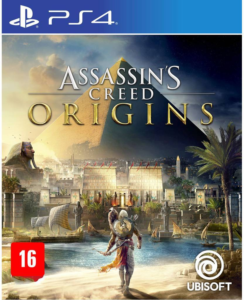 Assassins Creed Origins Edição Limitada - PS4