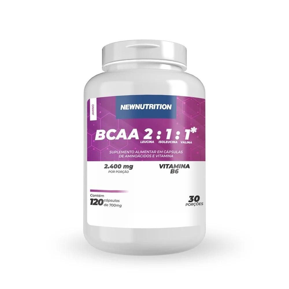 BCAA 2400mg - 120 cápsulas