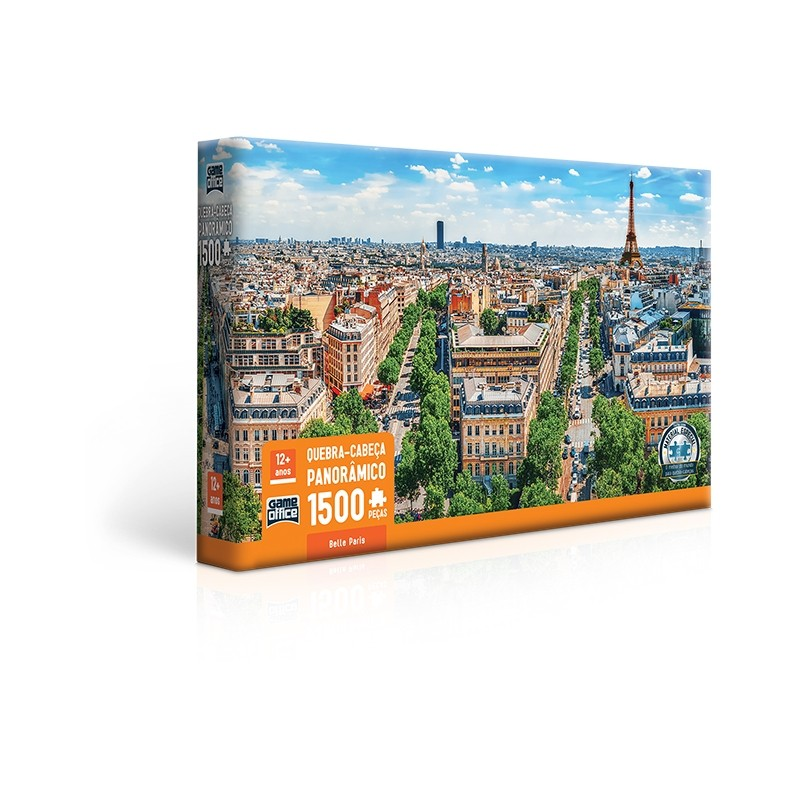 Belle Paris - Quebra-cabeça 1500 peças