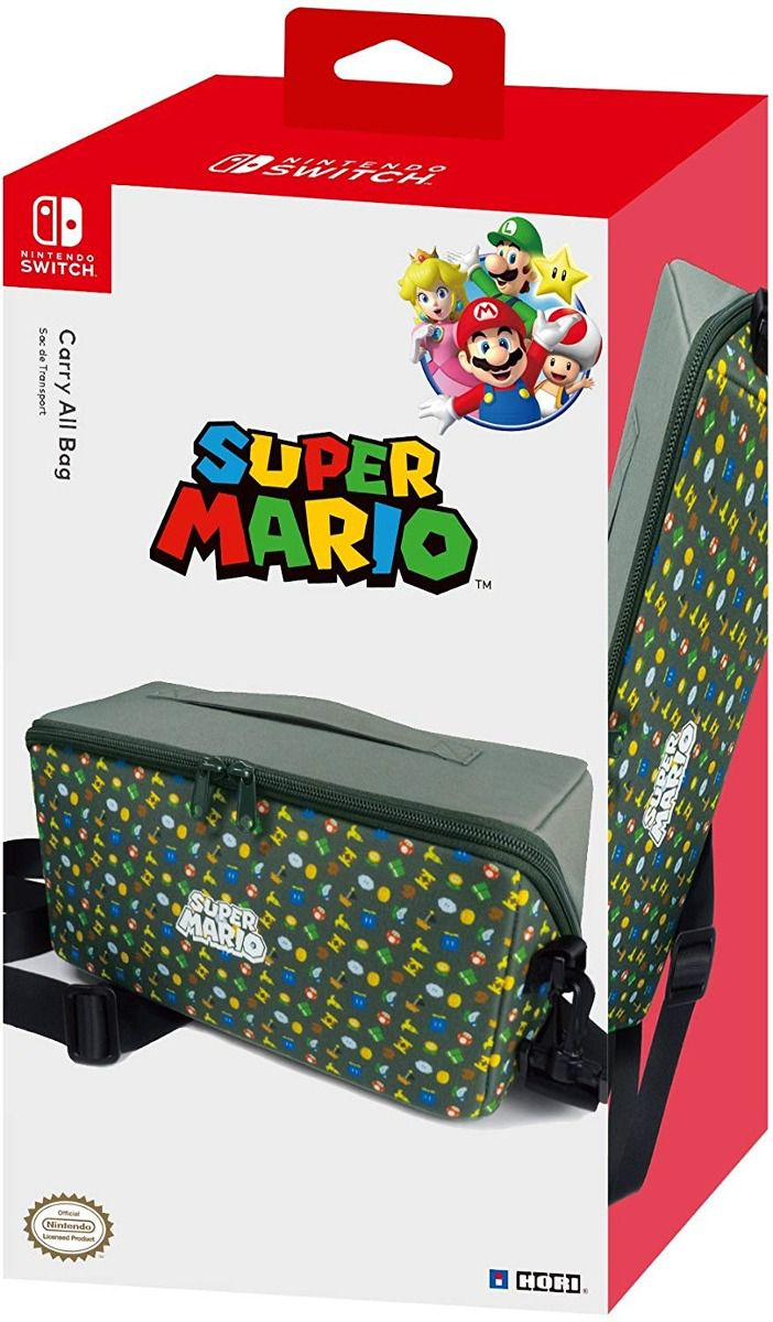 Bolsa Carry All Bag Super Mario Switch Hori - Nintendo Switch