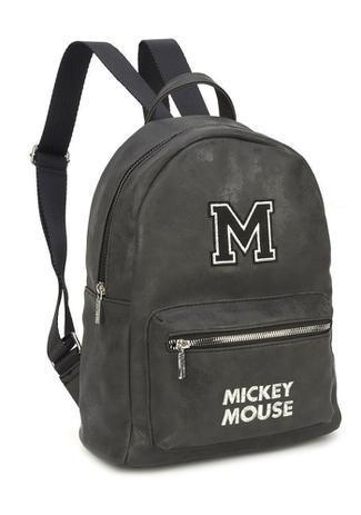 Bolsa De Costas Mickey Mouse Preta