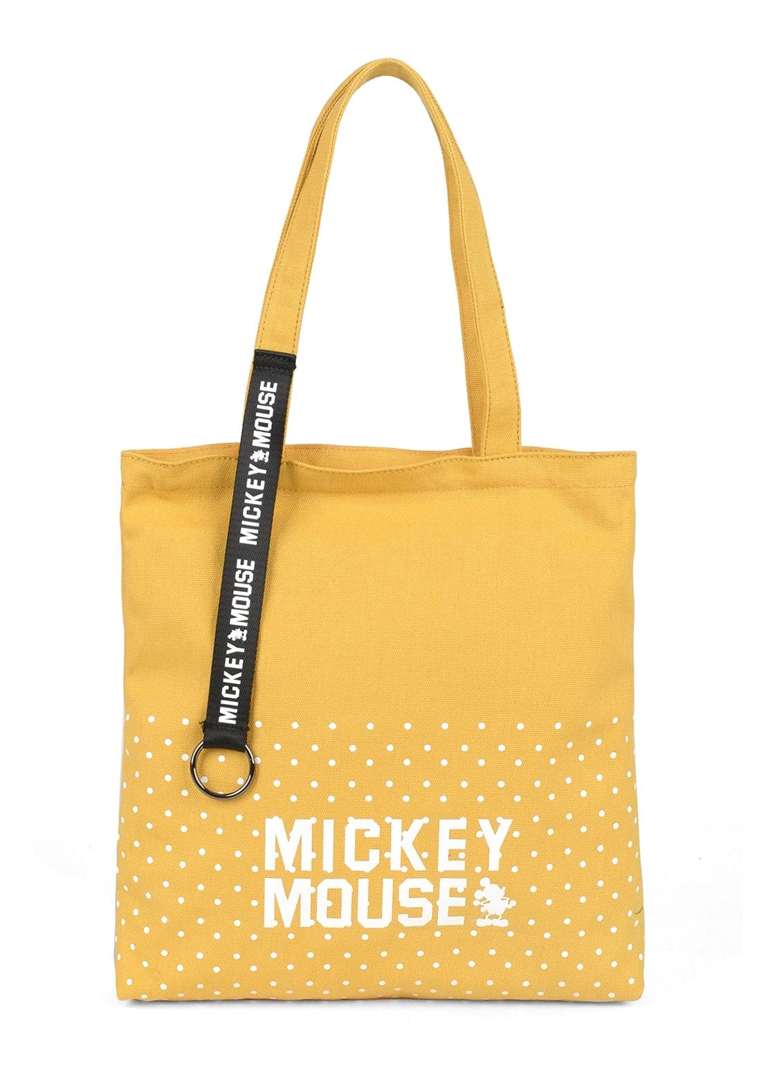Bolsa Feminina Mickey Amarelo (BMK78501AM)