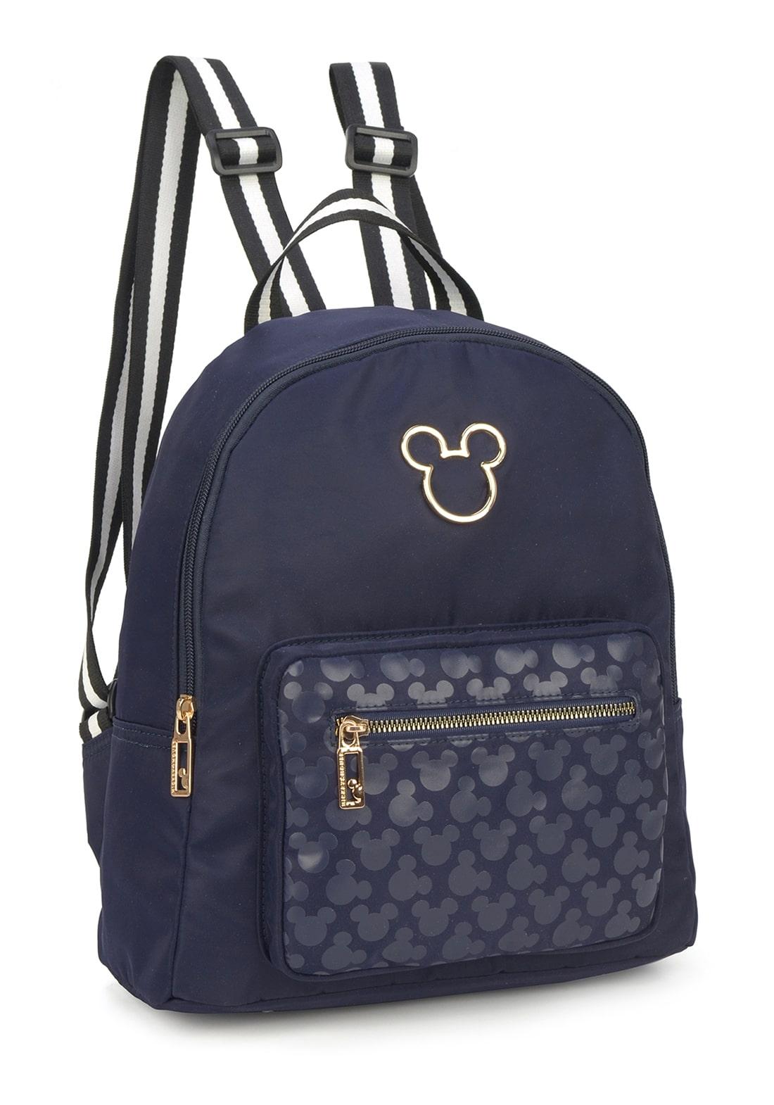 Bolsa Feminina Mickey Azul (BMK78482AZ)