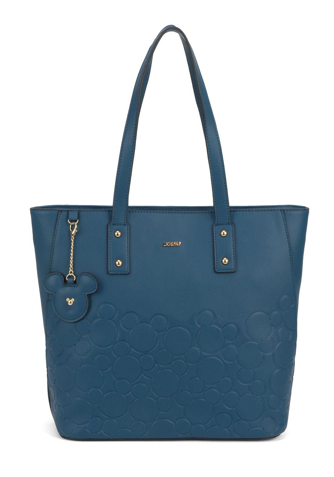 Bolsa Feminina Azul Mickey