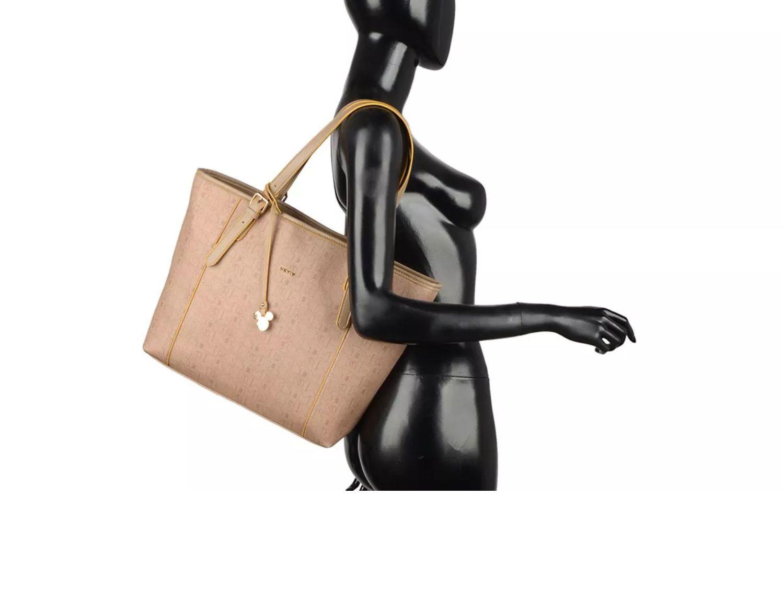 Bolsa Feminina Caqui Mickey