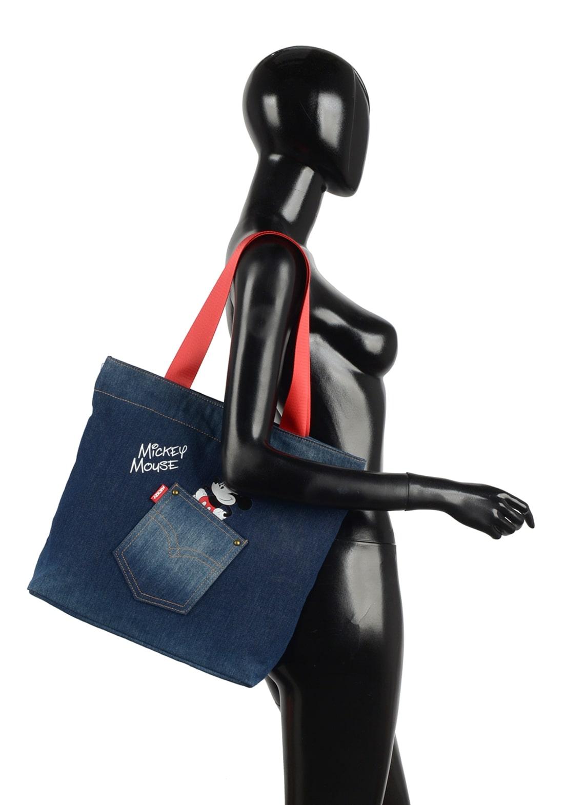 Bolsa Feminina Jeans Escuro
