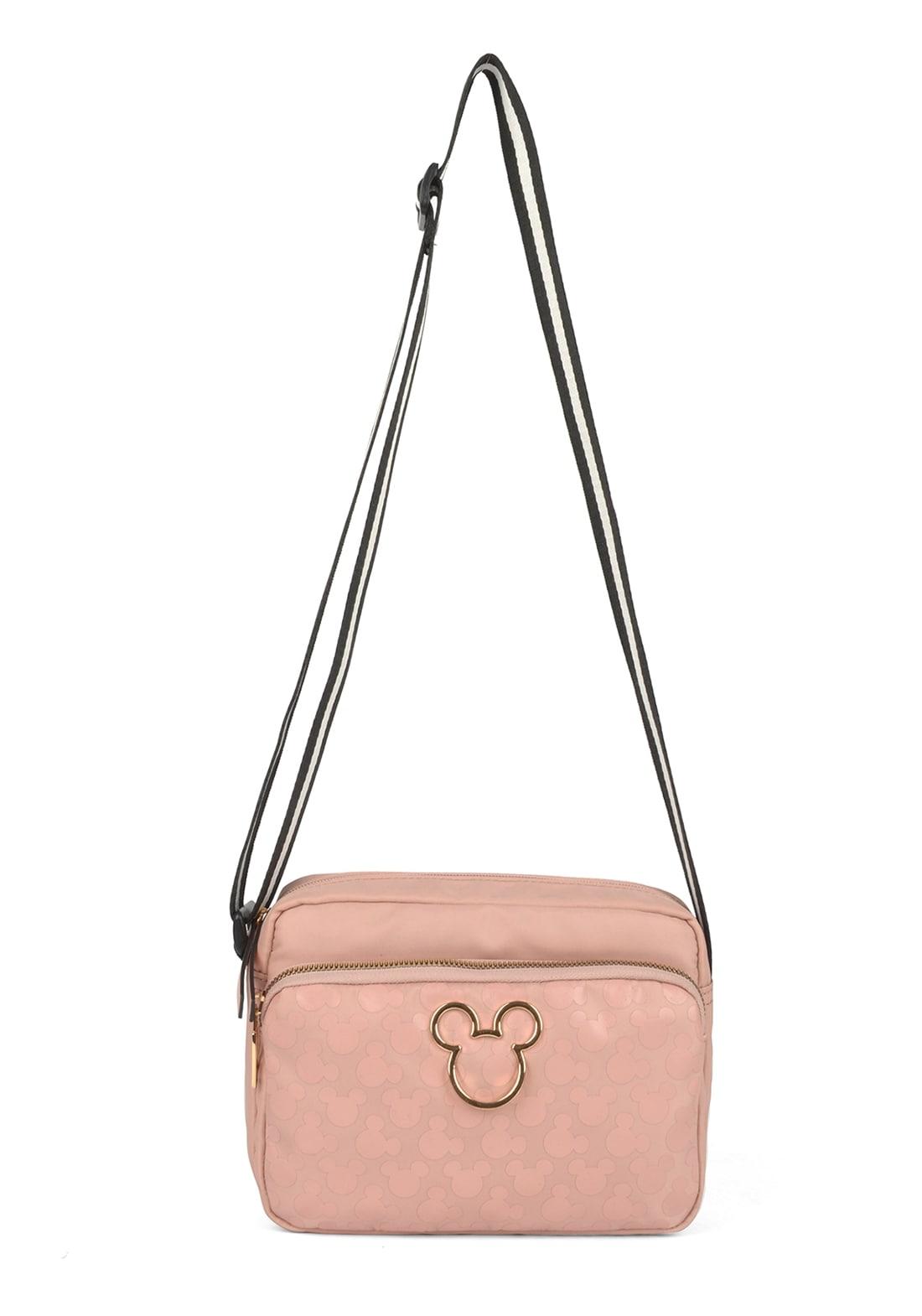 Bolsa Feminina Mickey Rose (BMK78484ROSE)