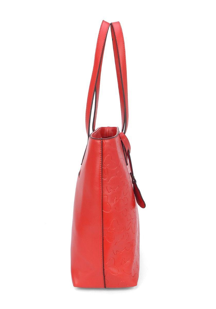 Bolsa Feminina Vermelha Minnie
